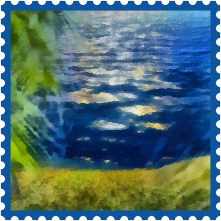 Nature on http://ideafill.me | #art #indigo #green #inspiration #nature #sea